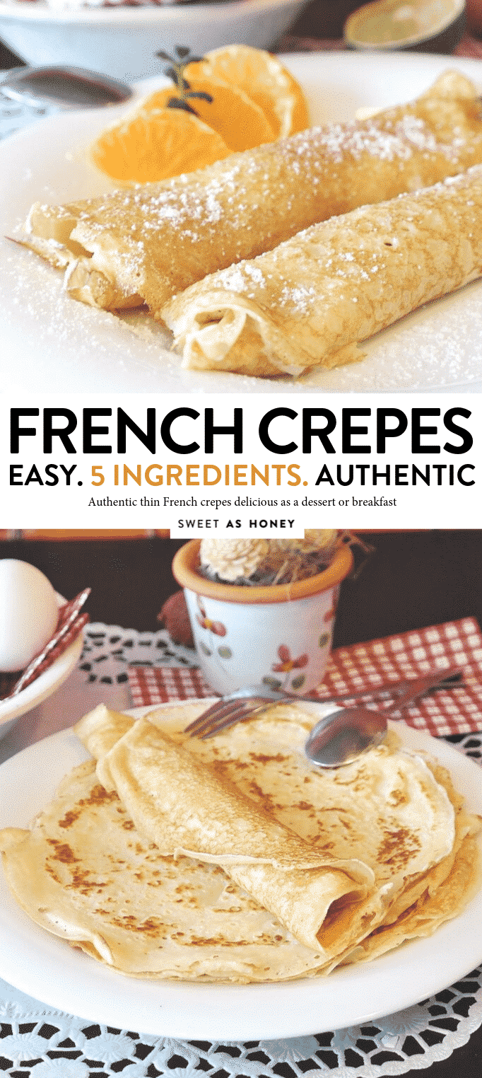 AUTHENTIC FRENCH CREPES RECIPE #french #recipe #crepes #authentic #easy #5ingredients #frenchrecipe #breakfast #thin