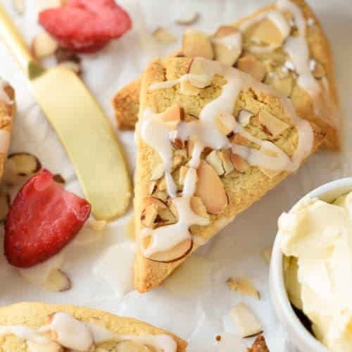 Gluten-free Almond Flour Scones