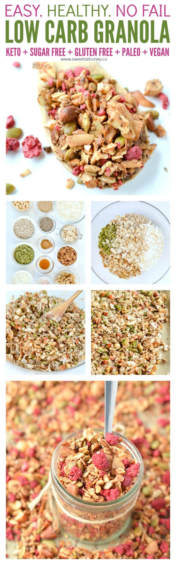 Grain Free Sugar free granola