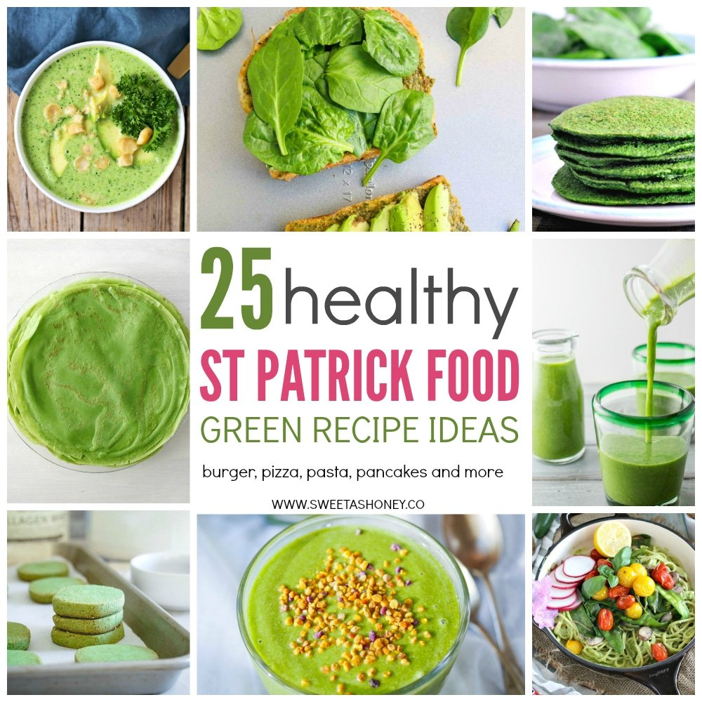 25 healthy green recipe to celebrate st patrick 39 s day for Cuisine on the green