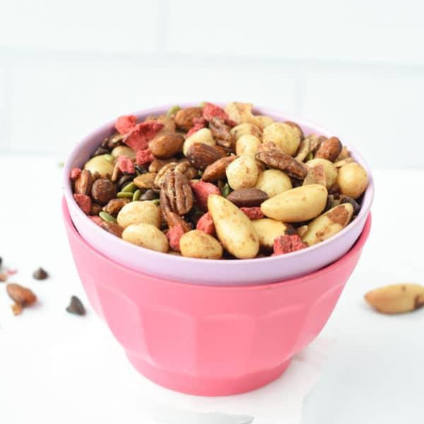 Healthy trail mix recipe