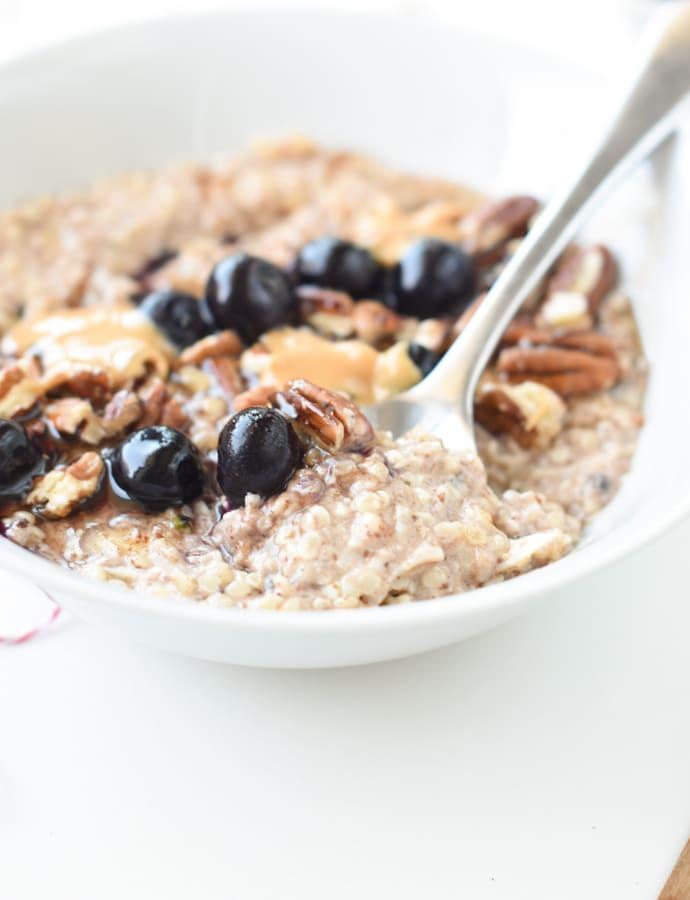 Hemp heart oatmeal