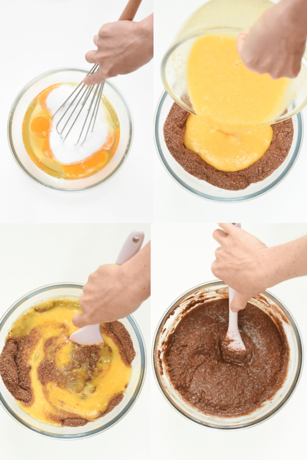 How to Keto chocolate Pound cake with almond flour
