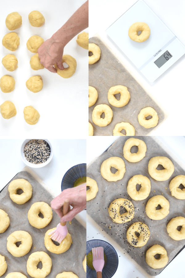 How to bake bagels fathead dough