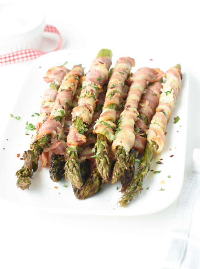 How to make Bacon wrapped asparagus oven