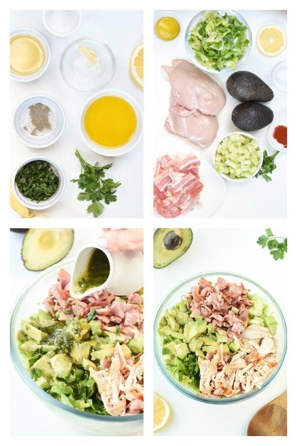 How to make Keto Avocado Chicken Salad