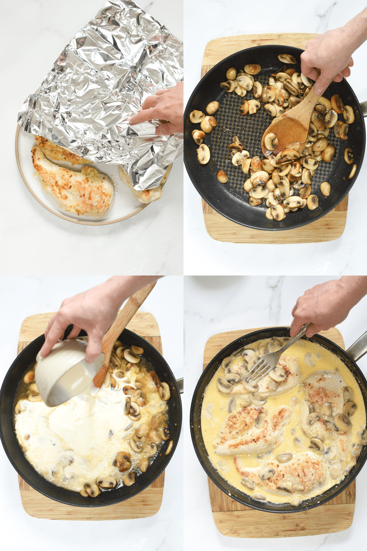 How to make Keto Chicken Marsala