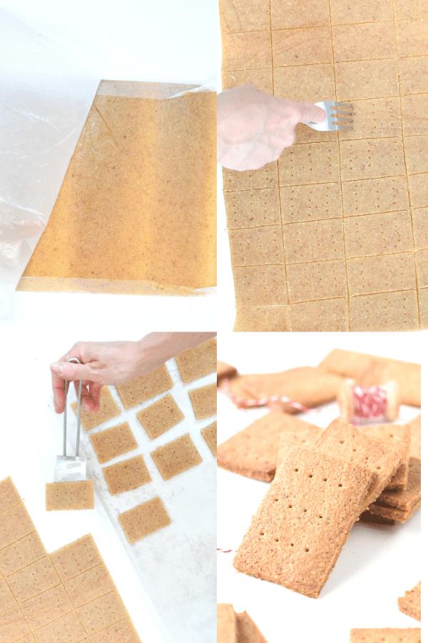 How to make Keto Graham Crackers