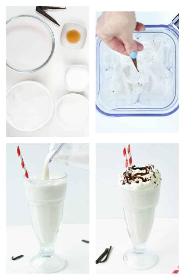 How to make Keto Milkshake with 5 ingredients