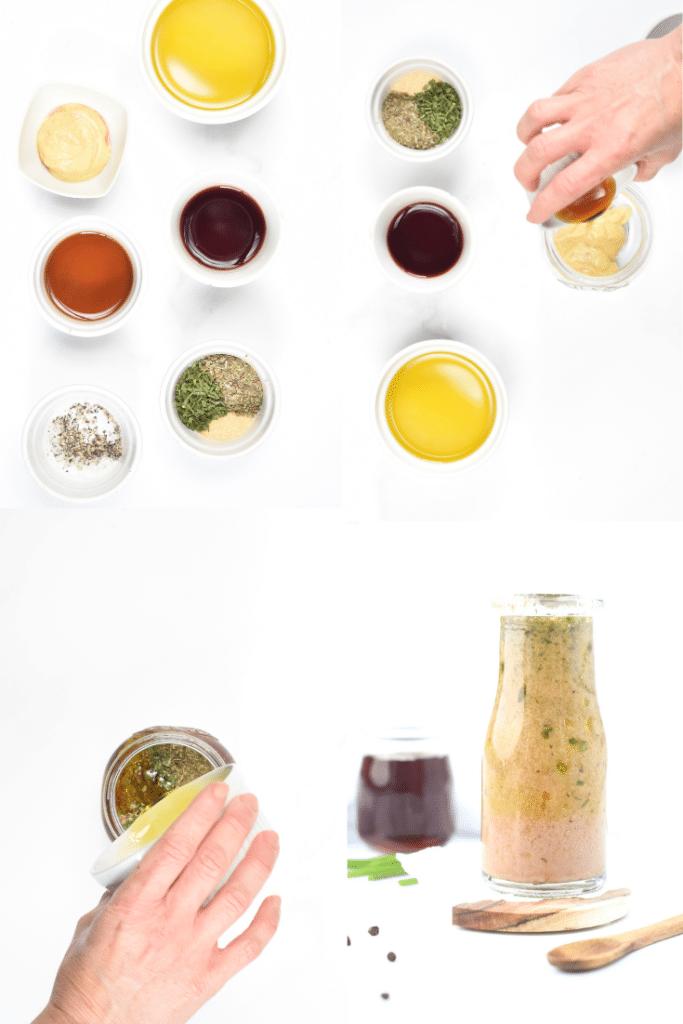 How to make Keto red wine vinegar salad dressing