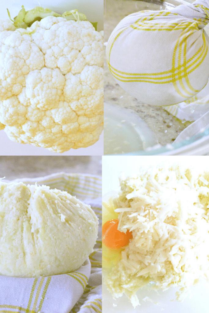 How to make cauliflower bread sticks