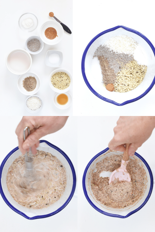 How to make hemp heart oatmeal_