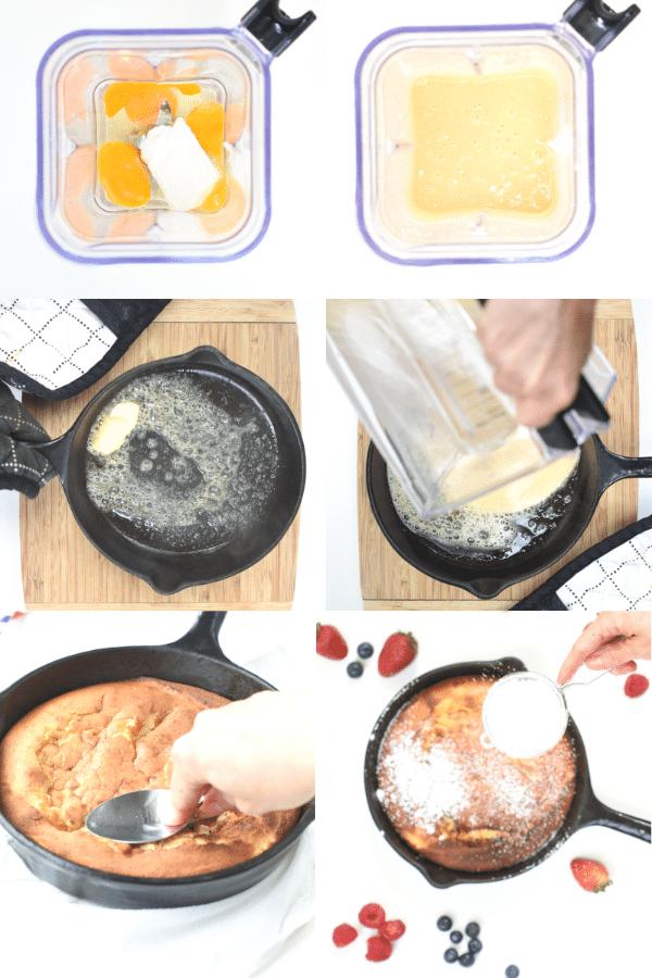 How to make keto Dutch Baby