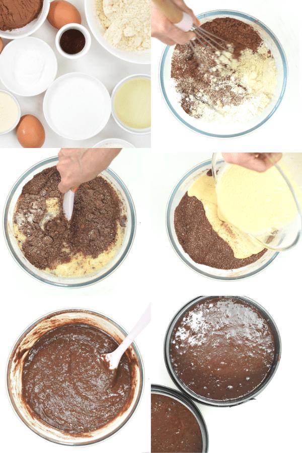 How to make keto German cake