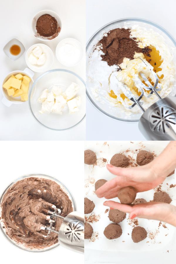 How to make keto chocolate cheesecake fat bombs