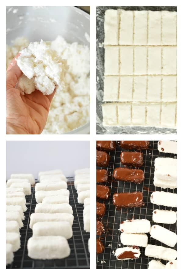 How to make keto coconut bars