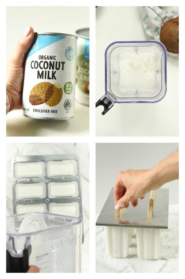 How to make keto coconut ice cream