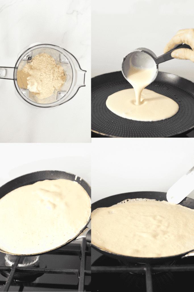 How to make keto crepes