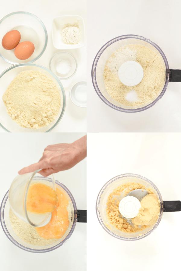 How to make keto empanadas dough