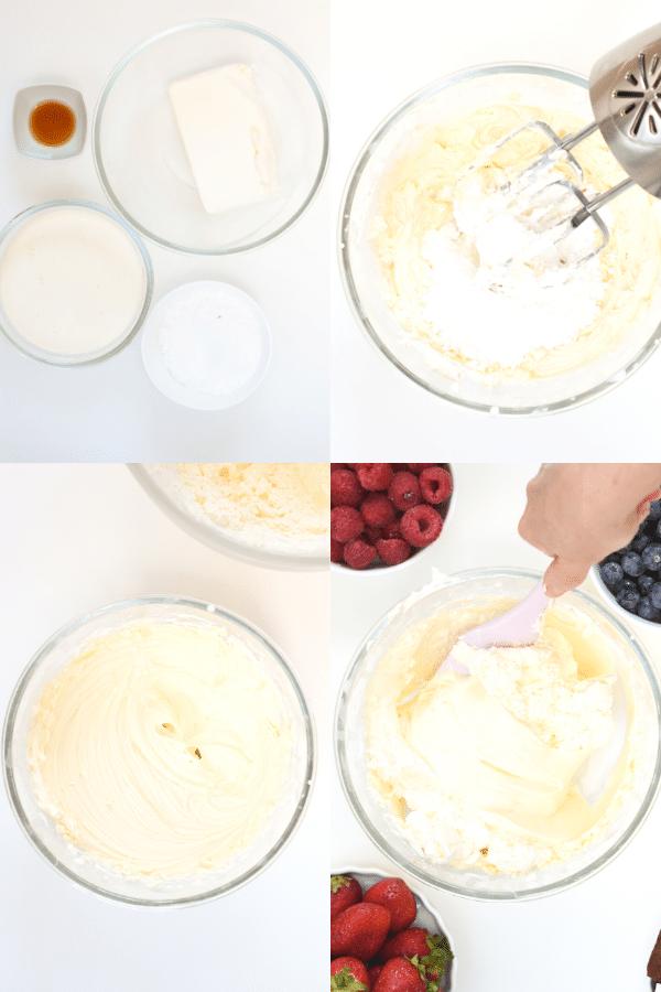 How to make keto fruit dip