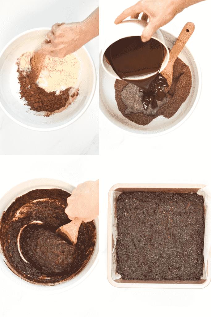 How to make keto vegan brownies