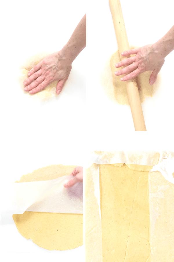 How to make roll fathead dough