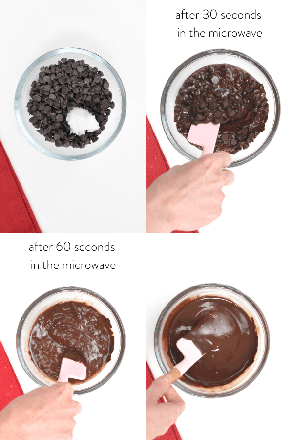 How to melt keto sugar free chocolate chips