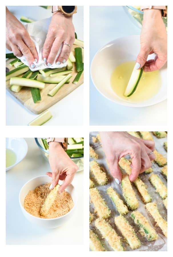 How to prepare keto zucchini fries