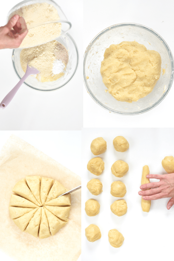 How to roll bagels fathead dough