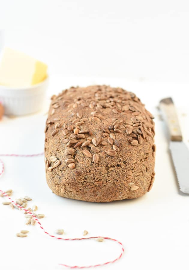 KETO Sunflower Seed Flour Bread