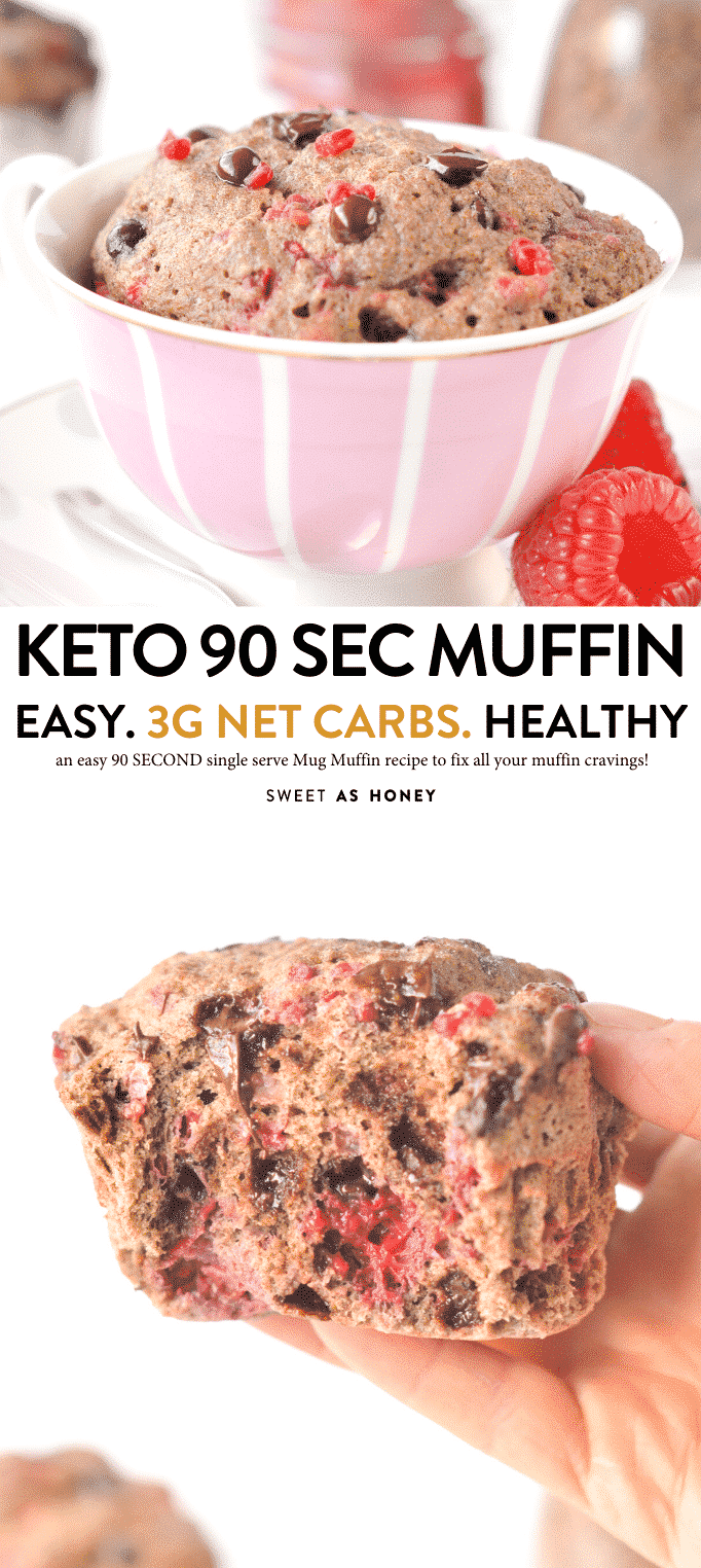 KETO FLAXSEED MUFFIN for one ! #ketomuffins #keto #ketorecipes #mugcake #mugmuffins #flaxseed #muffins #lowcarb #glutenfree #ketosnacks