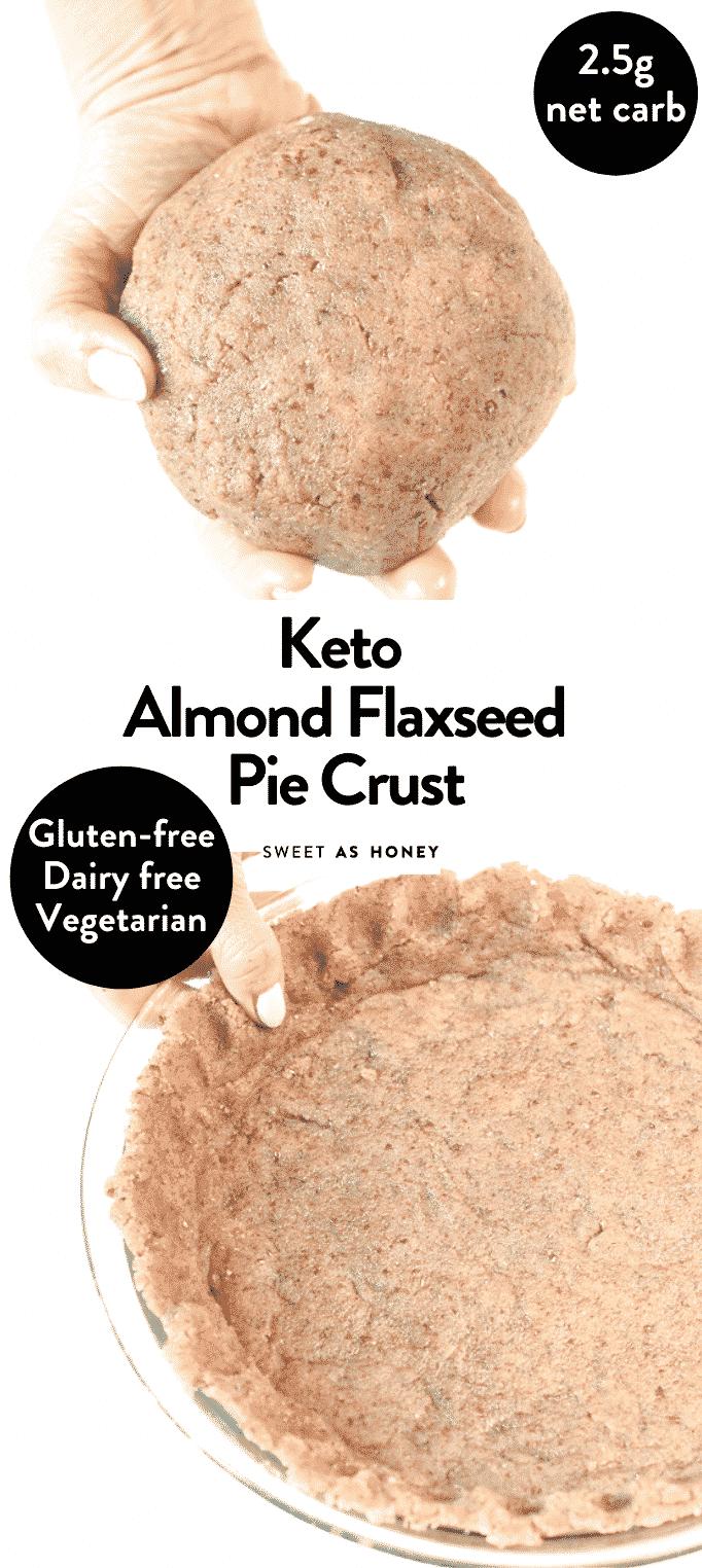 Keto Almond Flaxmeal Pie Crust
