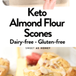 Keto Almond Flour Scones