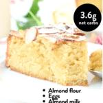 Keto Almond French cake
