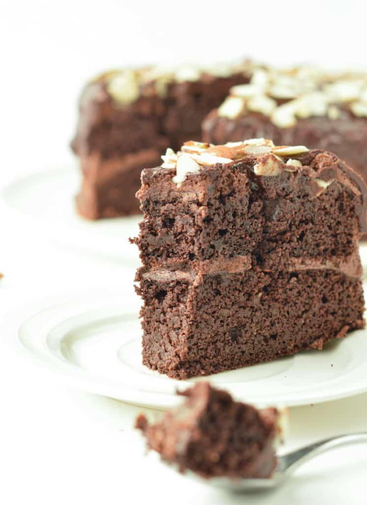 Keto Almond flour chocolate cake recipe