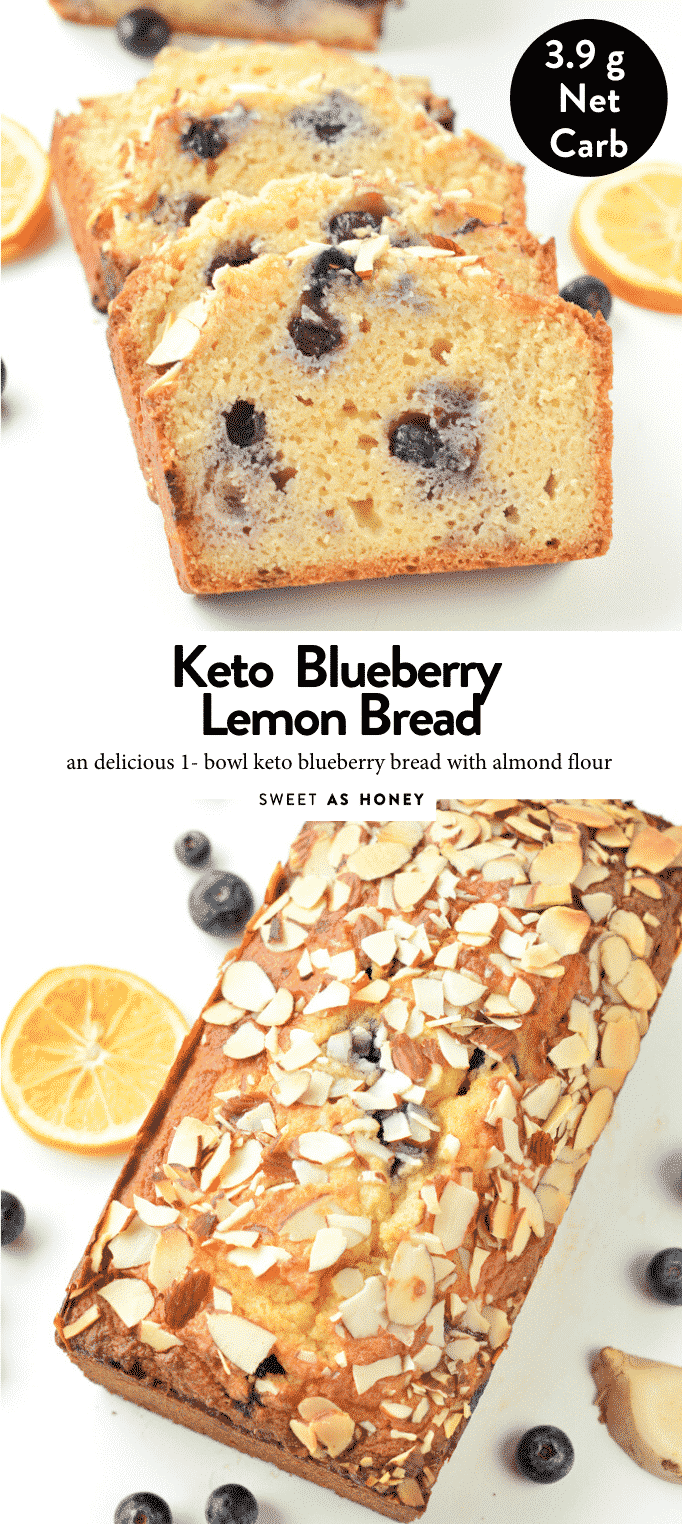 ETO BLUEBERRY BREAD with coconut flour 3.9 g net carbs #keto #ketoblueberrybread #blueberry #bread #lowcarb #glutenfree #dairyfree #easy #healthy #paleo #sugarfree #homemade #lemon #ketocake
