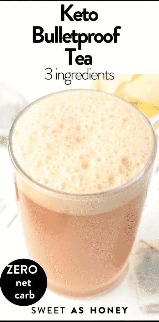 Keto Bulletproof Tea 3 ingredients