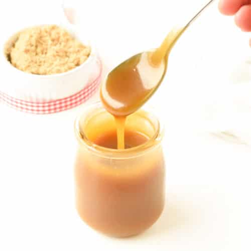 Keto Caramel Sauce Swerve