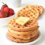 Keto Cream Cheese Waffles