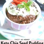 Keto chia seed pudding easy