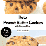 the BEST KETO PEANUT BUTTER COOKIES with Coconut flour, 4g net carbs #ketocookies #keto #cookies #peanutbuttercookies #lowcarbcookies #penutbuttercoconutflourcookies #ketopeanutbuttercookies #lowcarbpeanutbuttercookies #easyketopeanutbuttercookies #ketopeanutbuttercookieschocolatechips #healthypeanutbuttercookies #easypeanutbuttercookies #glutenfreepeanutbuttercookies #chewypenutbuttercookies #bestpeanutbuttercookies #coconutflourcookies #sugarfreecoconutflourcookies #ketococonutflourcookies #lowcarbcoconutflourcookies