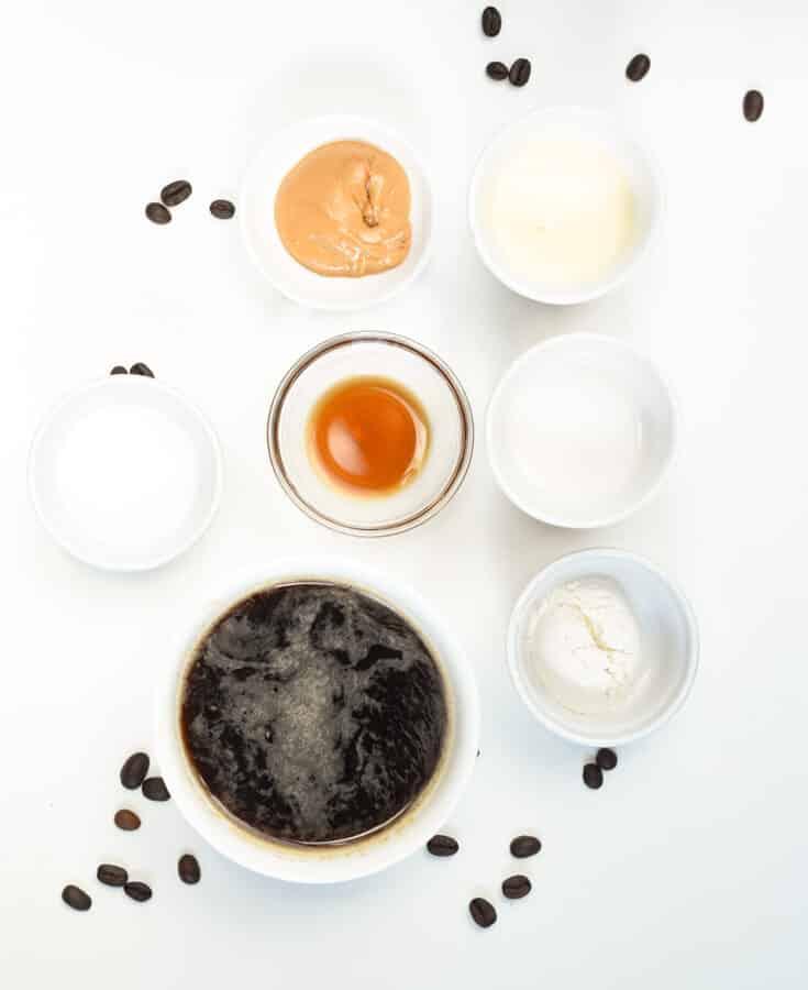 Keto Coffee Smoothie Ingredients