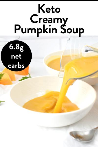 Keto Creamy Pumpkin Soup