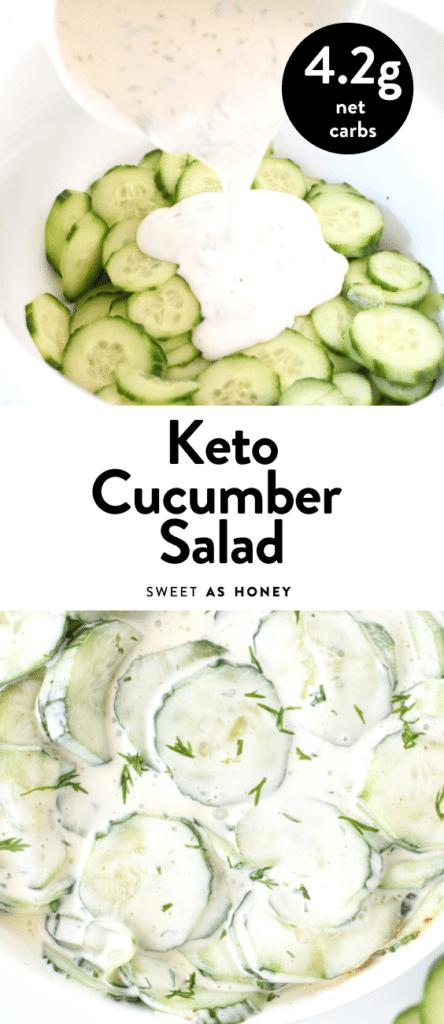 Keto Cucumber Salad