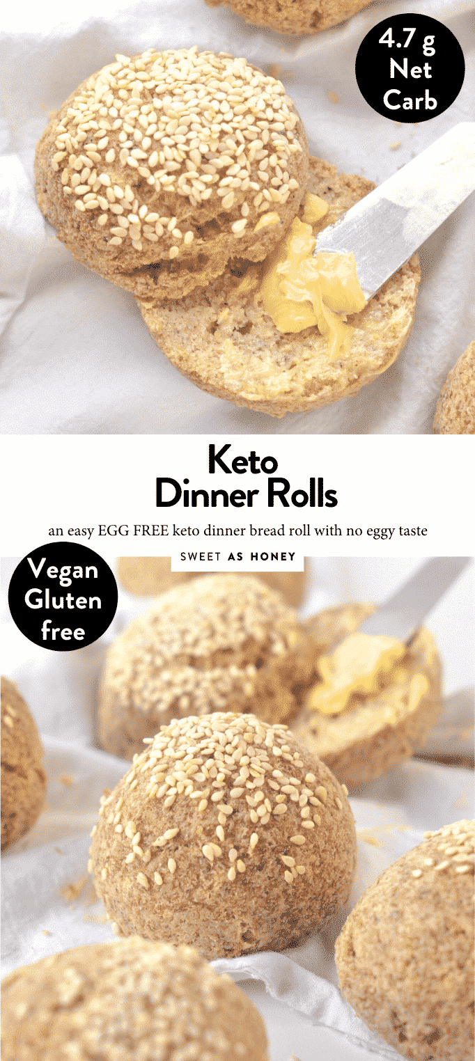 KETO DINNER ROLLS EGG FREE easy, healthy soft #keto #thanksgiving #baking #sides #healthy #lowcarb #makeahead #traditional #unique #best #thanksgivingside #breadrolls #ketobread #lowcarbbread #glutenfree #veganbread #veganketo