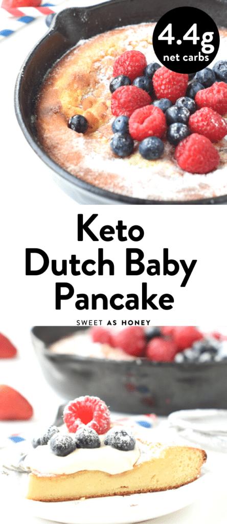 Keto Dutch Baby pancake