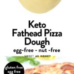 Keto Fathead Crust egg-free nut free