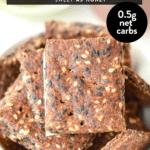 Keto Flaxseed crackers
