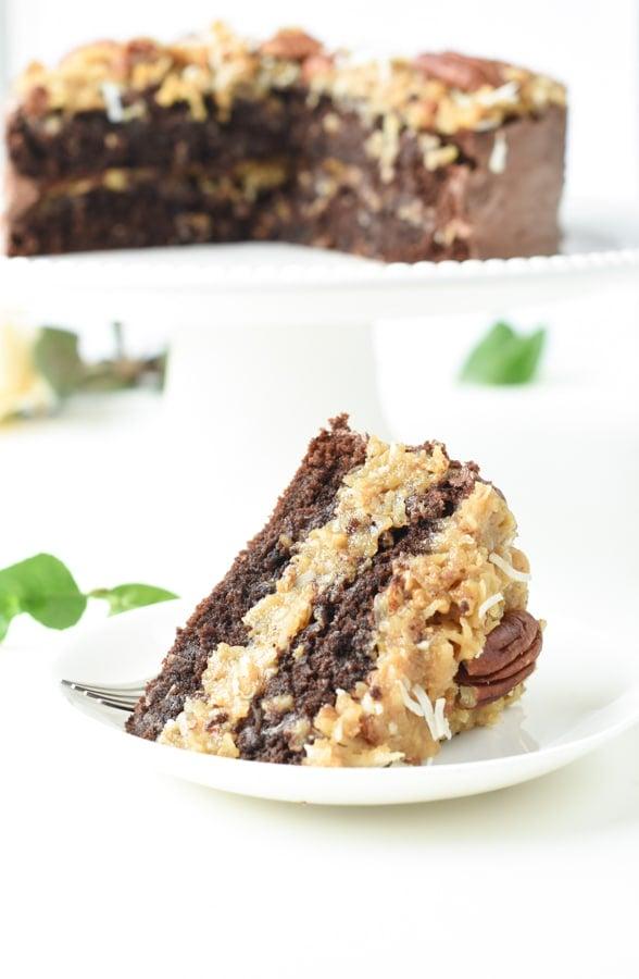 Diabetes friendly Keto German Cake
