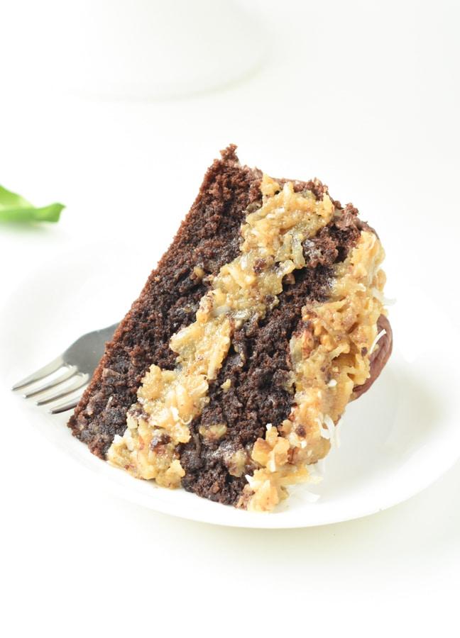 Keto Chocolate German Cake gluten free